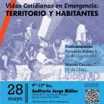I Coloquio Vidas Cotidianas en Emergencia: Territorio y Habitantes.