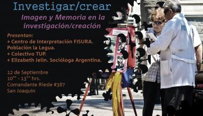 """Taller """"El Oficio de la Investigación/Creación"""" en Centro Fisura"""